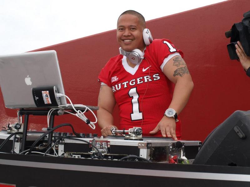 DJ Yoshi - Rutgers Football Pre-Game Show