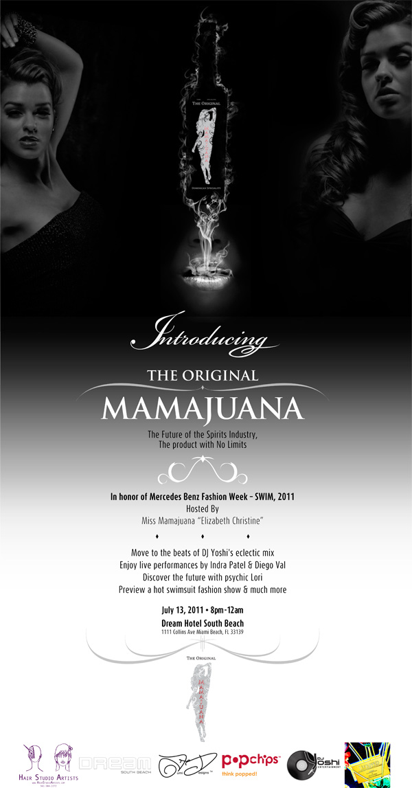 mamajuana-launch-flier