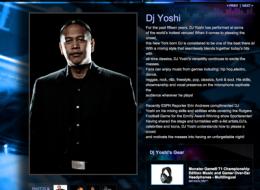 DJ Yoshi's Monster Cable Profile Page