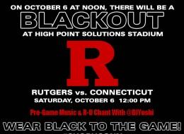 (Sports) DJ Yoshi LIVE at High Point Solutions Stadium: Rutgers vs. UCONN