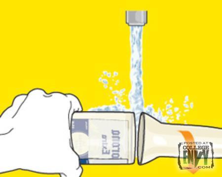 Turn beer liquor bottles into drinking glasses for Alcohol bottles made into glasses