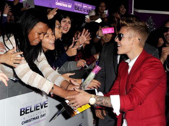 "Premiere Of Open Road Films' ""Justin Bieber's Believe"" - Red Carpet"