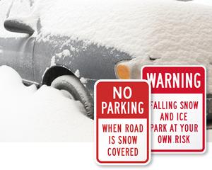 No-Parking-after-Snowfall-Signs