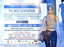 "DJ Yoshi Spins NYFW ""The Next Generation"" Runway Event"