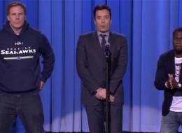 (Video) Jimmy Fallon, Will Ferrell & Kevin Hart's Epic Lip Sync Battle